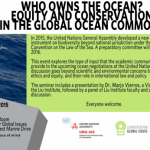 Yoshitaka Ota moderates seminar on global ocean commons equity