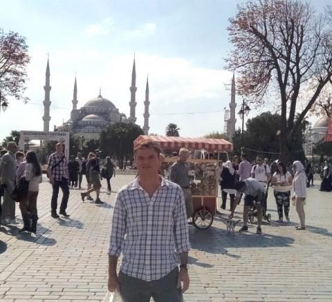 Ryan Rykaczewski, Nereus Program alumnus, in Ankara, Turkey.
