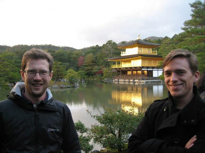 Laurens Geffert Chris McOwen in Japan