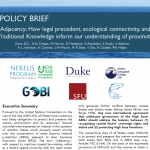 POLICY BRIEF: Adjacency: How legal precedent, ecological connectivity, and Traditional Knowledge inform our understanding of proximity
