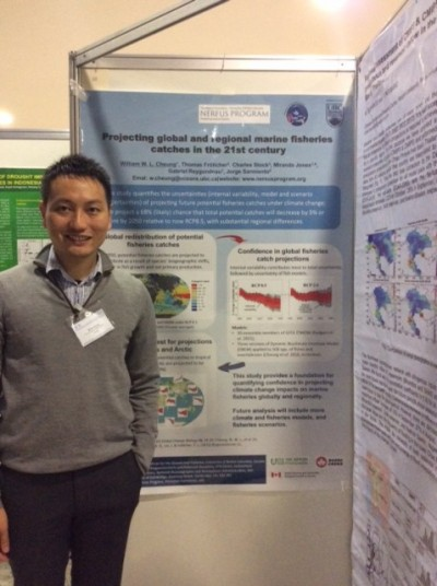 William Cheung presents at the IPCC Workshop