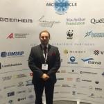 Richard Caddell presents at the Arctic Circle Conference