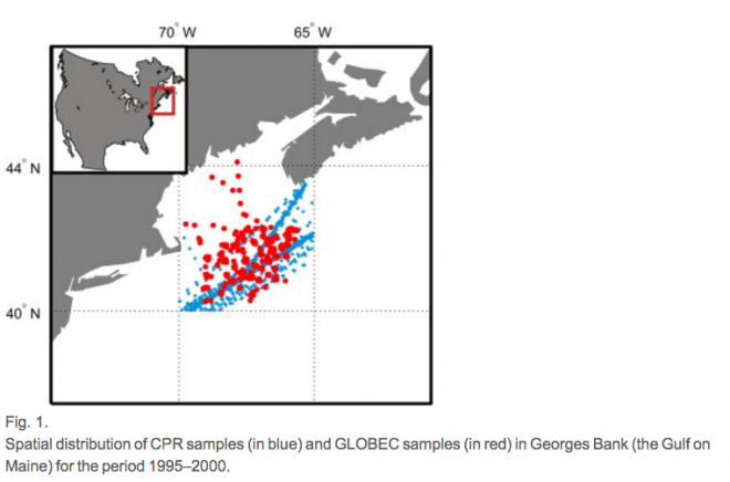 Reygondeau published on spatial and temporal patterns of C. finmarchicus plankton
