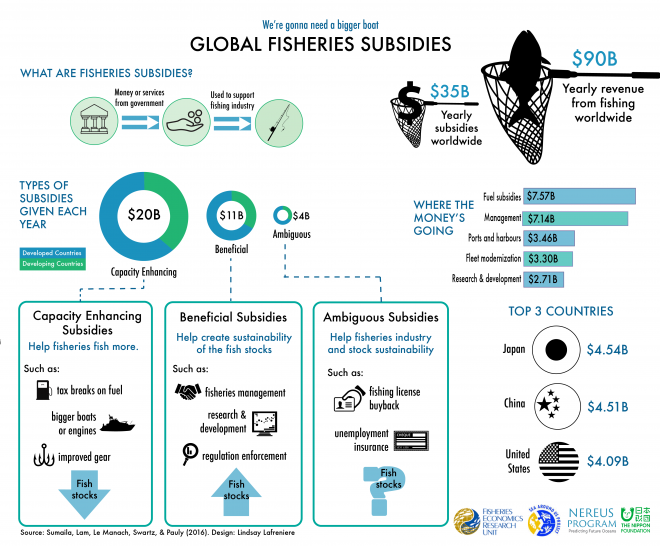 Global Fisheries Subsidies infographic