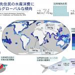 世界の先住民漁業の重要性:先住民一人当たりの水産消費量は居住国の平均水産消費量の15倍に達する